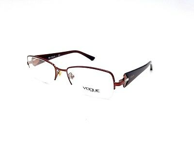 $225 VOGUE WOMENS BROWN EYEGLASSES FRAMES GLASSES OPTICAL EYE LENSES VO 3864-B