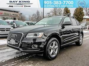 2017 Audi Q5 POWER LIFTGATE, LEATHER HEATED SEATS, SUNROOF
