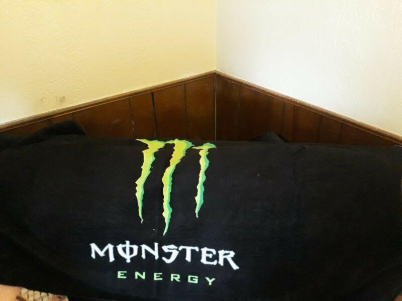 NEW MONSTER ENERGY TEAM HUGE BEACH  TOWEL