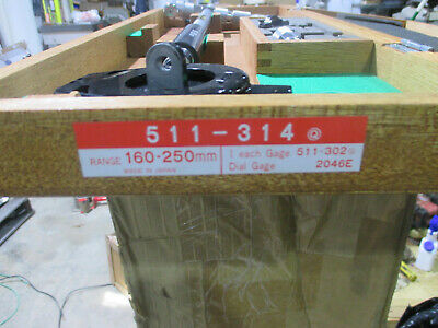 Mitutoyo 511-314 Micrometer Bore Gage 150 - 250mm Range