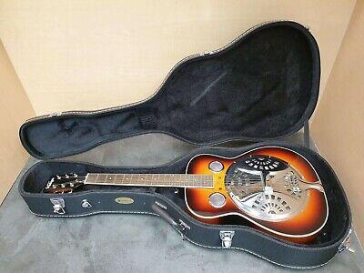 (Pa2) Vintage VRA4000 Resonator Guitar - Sun Burst