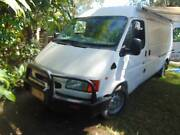 ford transit part camper Macleay Island Redland Area Preview