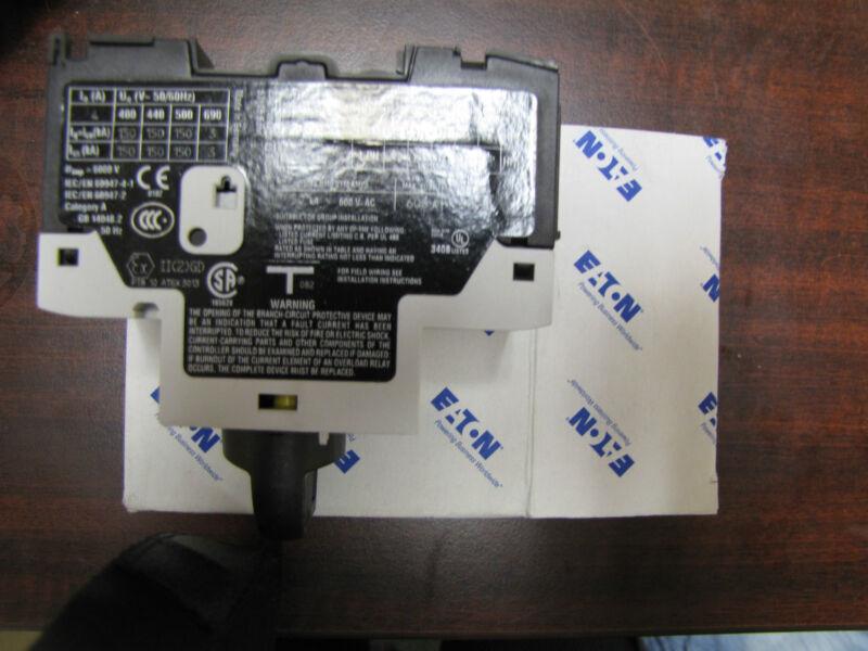Eaton Cutler Hammer XTPR0043C1 motor protector