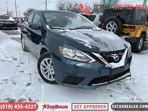 2017 Nissan Sentra 1.8 SV | 1OWNER | ROOF | CAM | HEATED SEATS