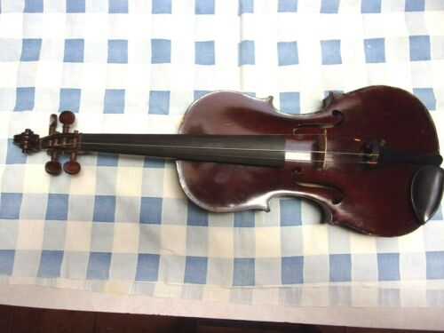 Antique Violin Salvadore De Durro 1901 Imported  w/1895 M&W New York Case