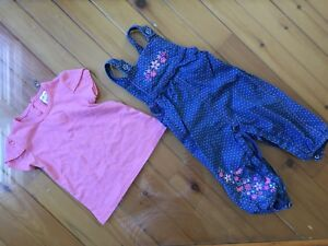Girls 9-12 months clothing.