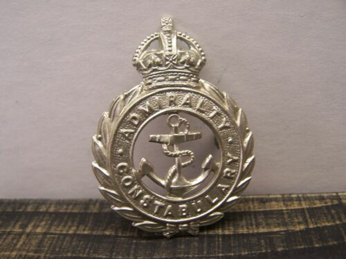 Obsolete WWI ADMIRALTY CONSTABULARY Cap or Hat Badge
