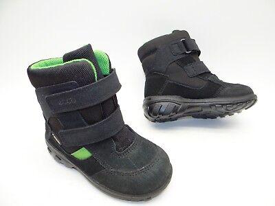ecco 750871 Kinder Jungen Mädchen Schuhe Winter Stiefel Boots Gefüttert Gr 22