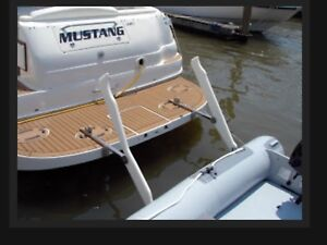 Support dinghy, gimbal, fabrication, réparation