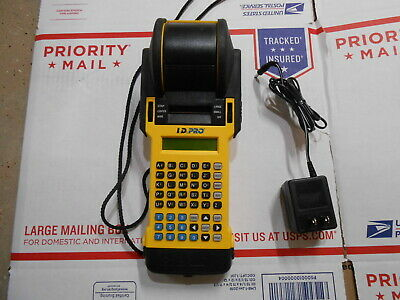 Brady I.d. Pro Id Wire Marker Printer Labeler Labeller Does Not Feed Sold As Is
