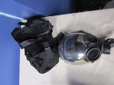Msa Gas Mask 40mm Nato Riot Medium Size With Tactical Bag