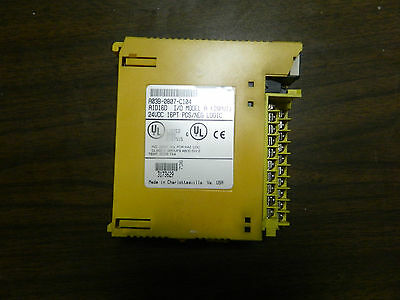 Fanuc I/O Module, A03B-0807-C104, AID16D, SOME DAMAGE TO PLASTIC