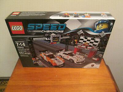 New LEGO Speed Champions Porsche 911 GT Finish Line Set 75912 Sealed Unopened