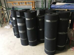 1/2 inch rubber flooring