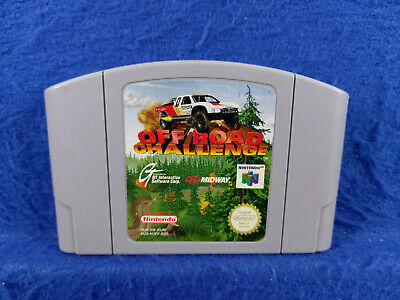 **N64 OFF ROAD CHALLENGE** Game Cart GENUINE Nintendo PAL