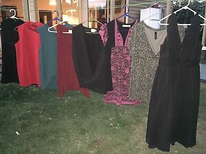 Maternity tops and evening dress (Size 10) Brunswick Moreland Area Preview