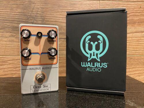 Walrus Audio Deep Six Compressor Pedal - Limited Retro Edition RARE