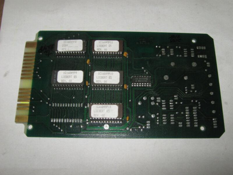 Liebert G12-3670 Rev. B Circuit Board, Excellent