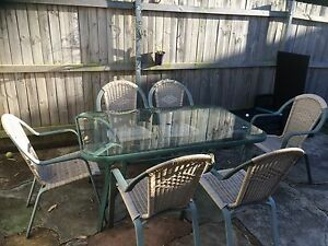 Outdoor table and chairs Hornsby Hornsby Area Preview