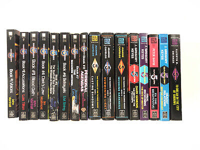 Lot of 16 BABYLON 5 TV Tie-In Novels #1-8 Techno-Mages #1-3 & more rare OOP VG/G