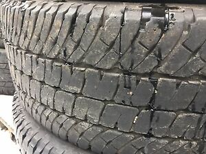LT275/70R18 Michelin LTX A/T2 set of four tires