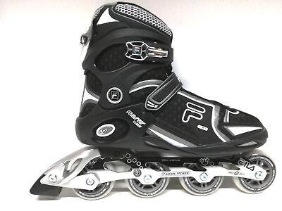 Inliner Abec 5 80mm Roces Stripes black blue Fitness Inline Skates Gr Sale 41