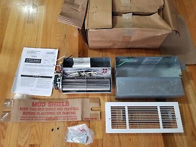 - Rare Marley Electric Heating # VP1222C, Fan Forced Wall Heater, 120V, 750-2200 W