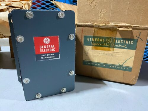 One General Electric 3S7505TL501A3 Light Source Transformer, NOS Vintage
