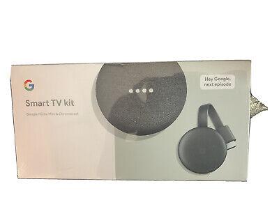 NEW GOODLE SMART TV KIT GOOGLE HOME MINI & CHROMECAST  GA00545-US