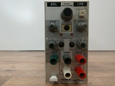 Tektronix Ps503a 0 To 20v 0 To -20v At 1a 45w Power Supply Plug-in Vintage