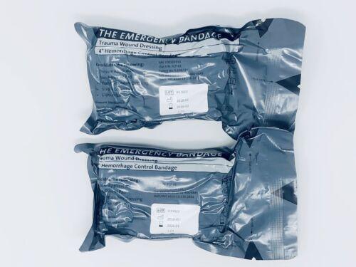 """*2-Pack* PerSys Medical 4"""" ETB Israeli Emergency Trauma Ba"""
