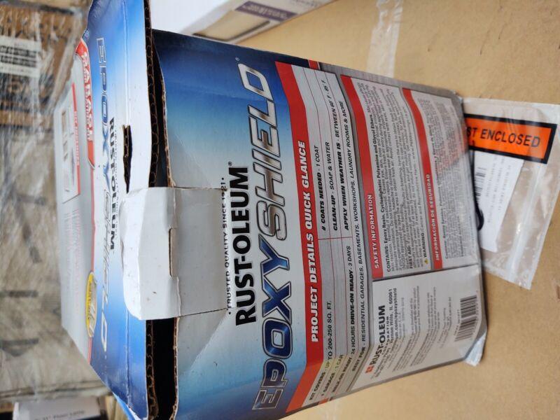 Rustoleum epoxy shield