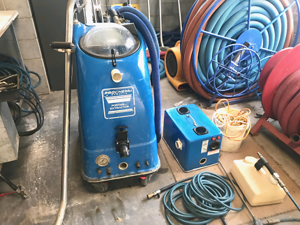 COMPLETE COMMERCIAL CARPET CLEANING EQUIPMENT