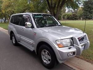 Low KLM 2001 Mitsubishi Pajero 7 Seater AUTOMATIC Exceed Wagon Mitchell Gungahlin Area Preview