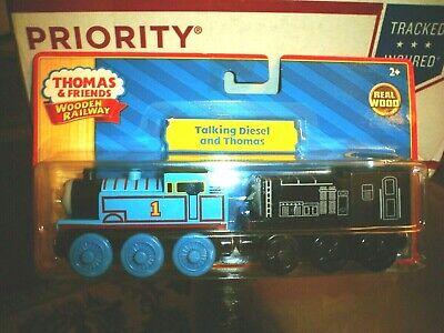 Thomas & Friends Wooden Railway Talking Diesel and Thomas Engines