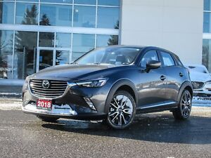 2018 Mazda CX-3 GT TECHNOLOGY PACKAGE