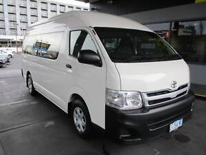 2012 Toyota Hiace Commuter Hobart CBD Hobart City Preview
