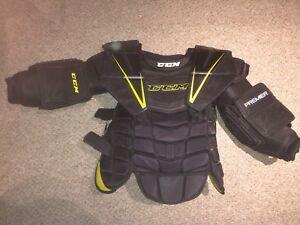CCM Premier Pro Goalie Chest/Arm Protector SR XL