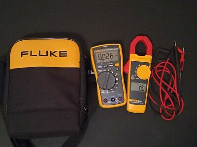 Fluke Fluke-117323 Kit 400ac600dc Multimeter And Clamp Meter Kit