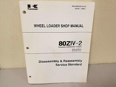 Kawasaki 80ziv-2 Wheel Loader Disassembly Assembly Service Manual