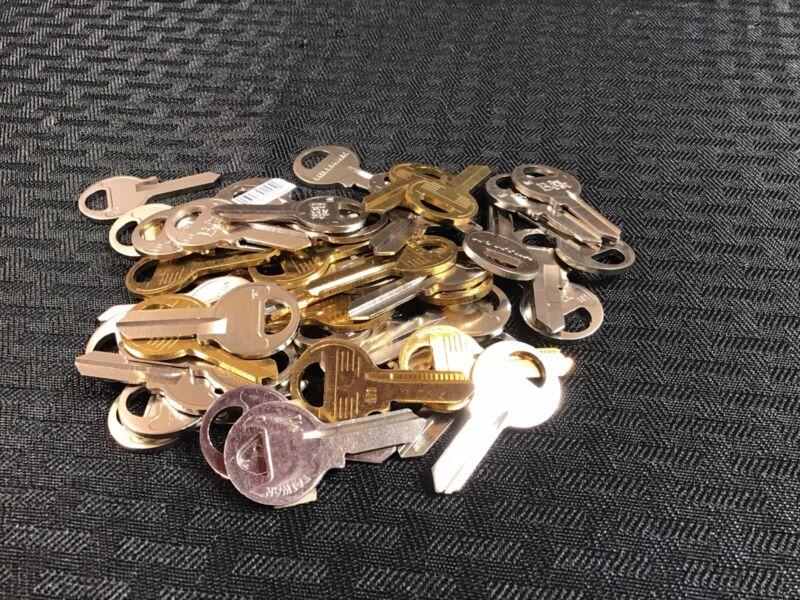 M1 MASTER Padlock Key Blanks 1092 Locksmith Mix Uncut 50 Qty