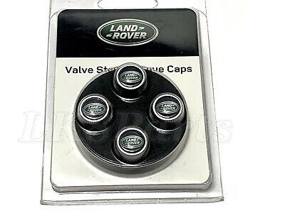 Land Rover Range Sport LR2 LR3 LR4 Tire Valve Stem Cap Kit  x4 LR006186 Genuine 4 X 4 Land Rover