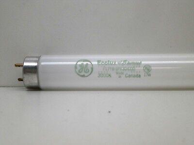 17w T8 Fluorescent Bulb - (2-Pack) GE F17T8/SPX30/ECO Fluorescent Lamp Light Bulb 17W 3000K Warm White