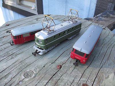 3 TT 1:120 train Locomotives DC Rail Trolley Electric E 499 YC1 Berliner Bahnen
