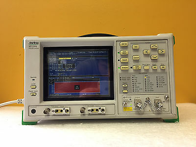 Anritsu Mp1550a Options 010304060810 Pdh Sdh Analyzer Mp0110a Module
