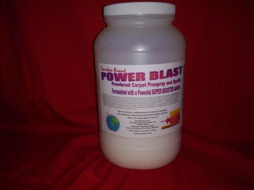 TennSpec Power Blast Powdered Carpet Traffic Lane Prespray BIG single 6 pounds