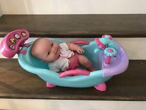 Baby Doll and bath - EUC $50