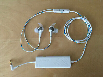 Bose QC20i Acoustic Noise Cancelling Headphones White for Apple devices