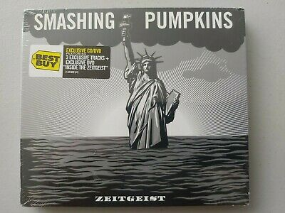 SMASHING PUMPKINS ZEITGEIST BEST BUY EXCLUSIVE CD / DVD SEALED