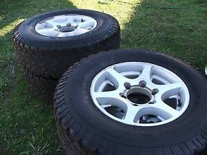ROD 15'' ALLOY WHEELS AND TYRES SUIT FOR HILUX Capital Hill South Canberra Preview